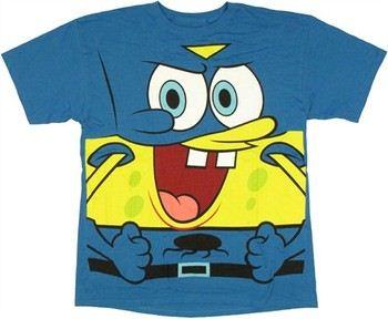 Spongebob Squarepants Costume Cape T-Shirt
