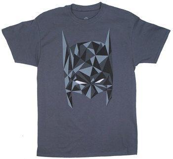 Vector Batman Mask - DC Comics T-shirt