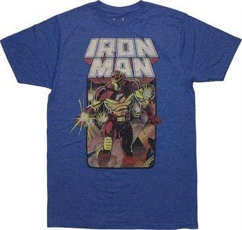 Marvel Comics Iron Man Crash and Burn Issue #301 T-Shirt Sheer