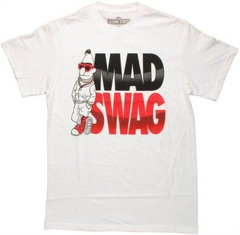 Sesame Street Bert Mad Swag T-Shirt