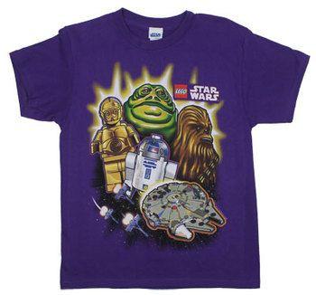 Familiar Faces - LEGO Star Wars Youth T-shirt