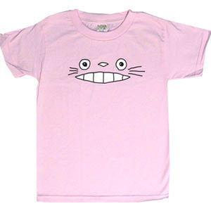Cheshire Totoro Face - Pink (Kids)