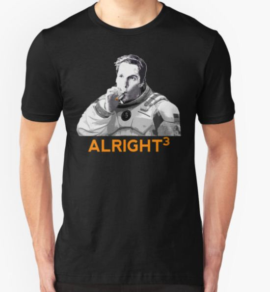 Alright Cubed T-Shirt by SKIDSTER T-Shirt