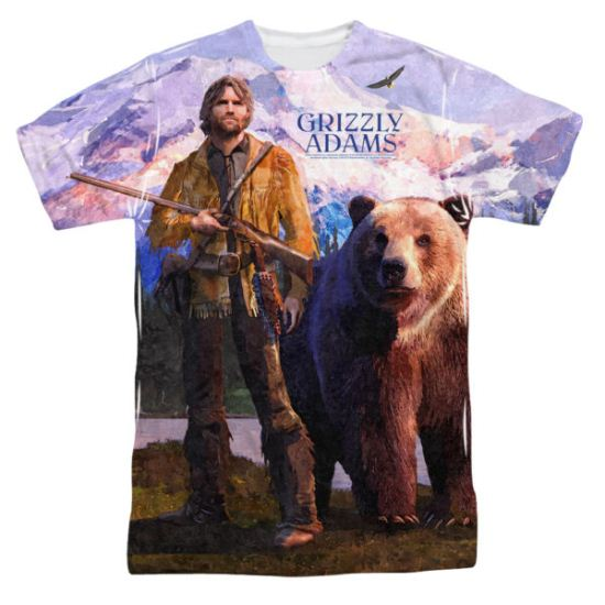 Grizzly Adams Shirt Man And Bear Sublimation Shirt
