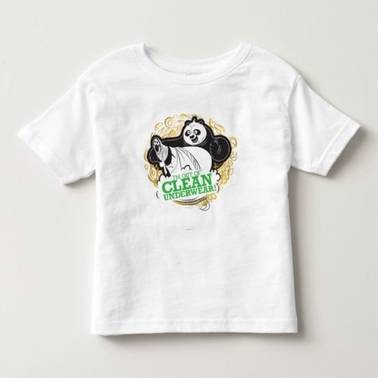 Po Ping - I'm Clean out of Underwear Toddler T-shirt