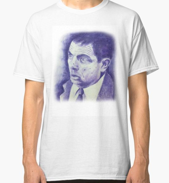 mr bean Classic T-Shirt by benjamin doherty T-Shirt