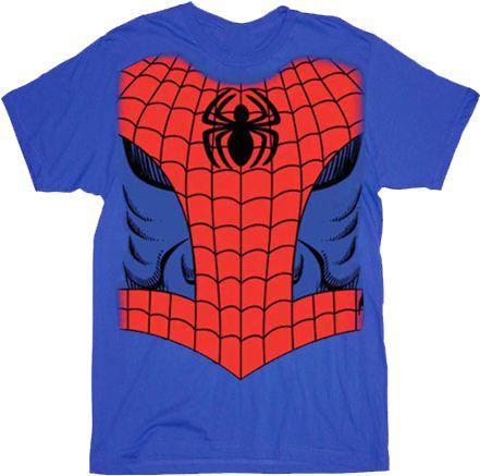 Marvel Comics Spider-man Costume T-shirt