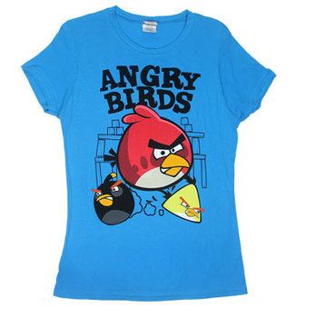 Fighters - Angry Birds Sheer Women's T-shirt