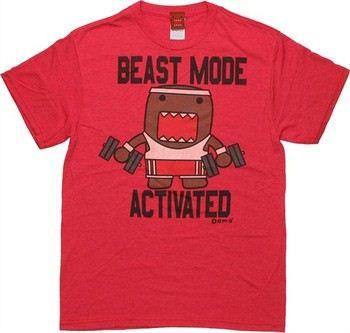Domo-Kun Beast Mode Activated T-Shirt