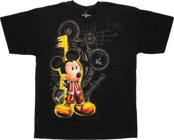 Disney Kingdom Hearts Mickey Key T-Shirt