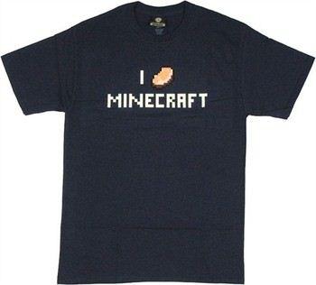 Minecraft I Love (Porkchop) Minecraft T-Shirt