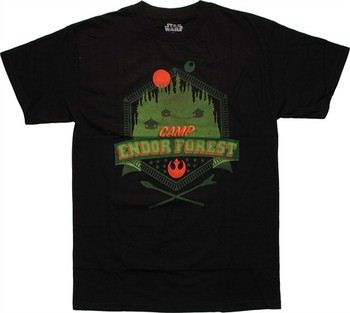 Star Wars The Forest of Camp Endor T-Shirt