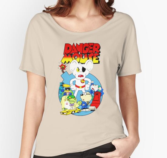 Danger Mouse Women's Relaxed Fit T-Shirt by Mifaftenet T-Shirt