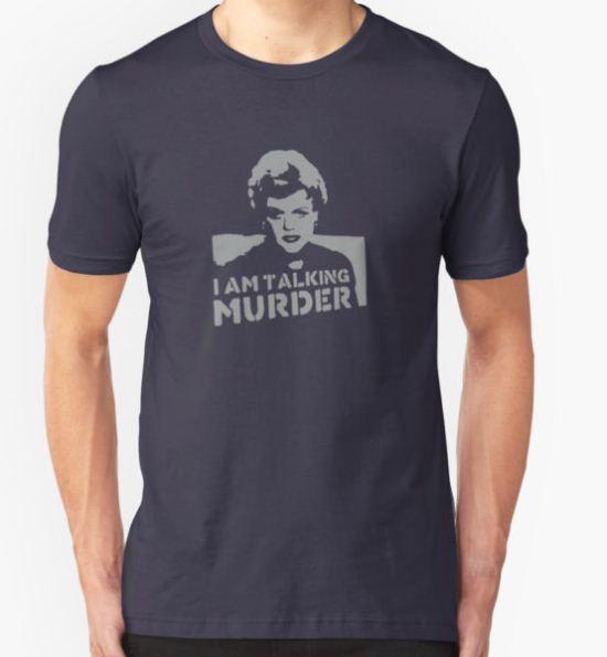 Deadly Lady - Murder T-Shirt by 8balltshirts T-Shirt