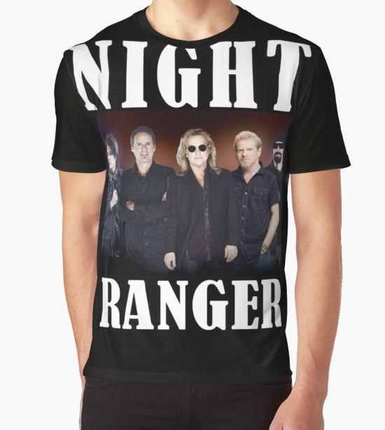 Gunawan05 Night Ranger Tour 2016 Graphic T-Shirt by GUNAWANSBELAS11 T-Shirt