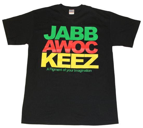 Jabbawockeez Dance Stack Logo Black T-shirt
